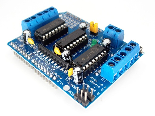 L293d motor driver sheild for arduino in pakistan for L293d motor driver module