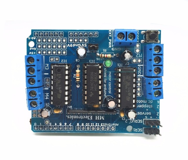 L293D motor control shield 4-Channel Stepper Motor Driver Board